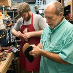 Pensacola makes its mark repairing shoes and selling boots.