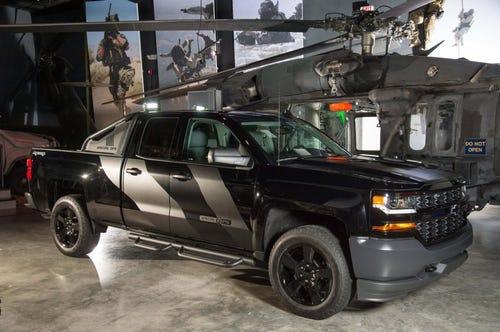 Special Ops Silverado >> Special Ops Chevy Silverado Sales Benefit Navy Seal Museum