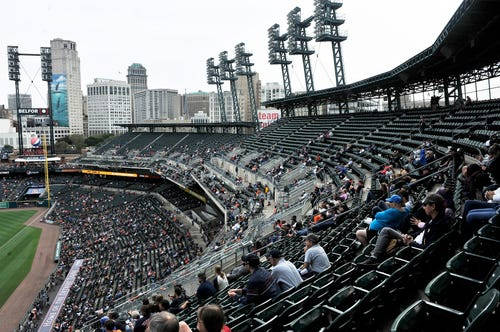 Tigers' Opening Day tickets selling at slow pace | The Detroit News