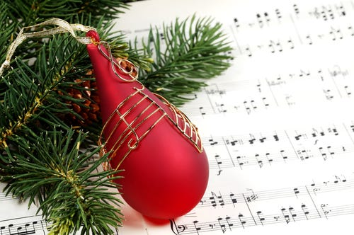 'Tis the season for Christmas music. (Photo: Scott Rothstein, Getty Images/iStockphoto)