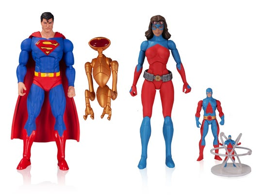 """The third wave of """"DC Comics Icons"""" features Superman"""