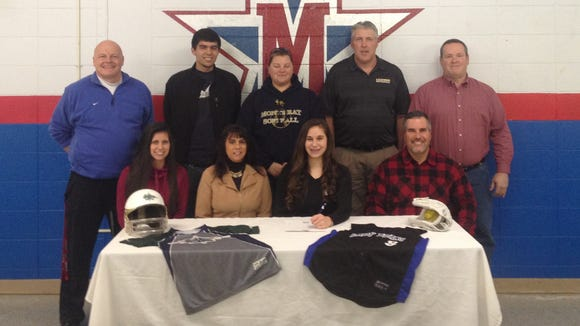 McDowell senior Mikki Shelton has signed to play college softball for Montreat.