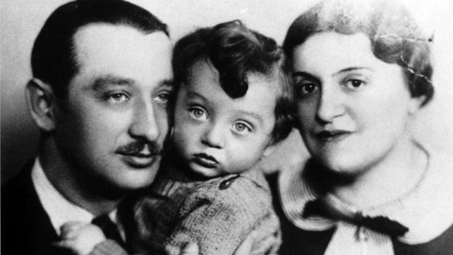 """A family portrait salvaged from Auschwitz, part of """"The Last Album"""""""