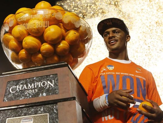 As a sophomore, Watson led Clemson to the national