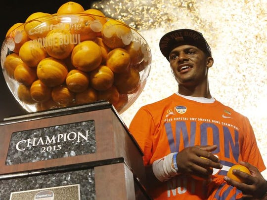 As a sophomore, Watson led Clemson to the national championship game.