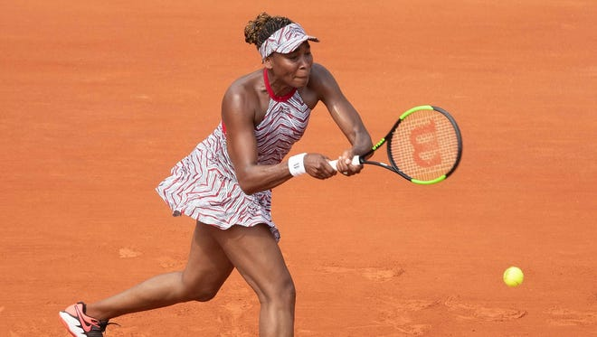 Venus Williams lost in straight sets to Qiang Wang in the first round.