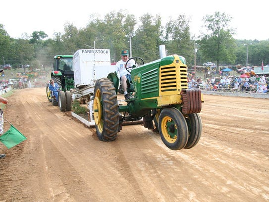 See antique tractors and engines, along with tractor