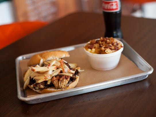 Meats smoked inhouse are the specialty at Casual Joe's,