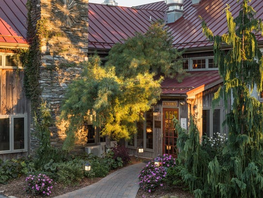 The Glasbern Inn is known for its rustic charm and