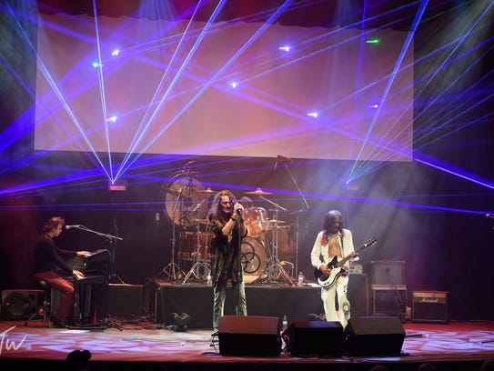 The Pure Led Zeppelin Experience, a laser light-filled
