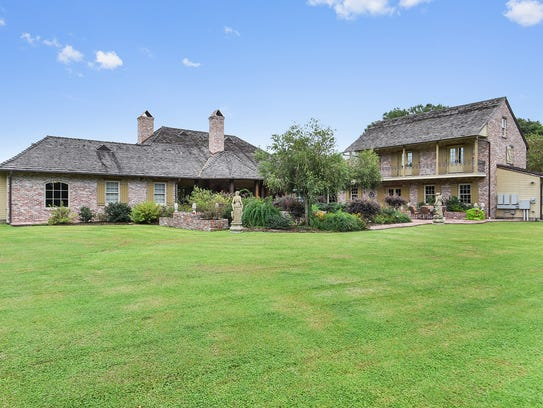This estate sits on more than 5 acres in Youngsville,