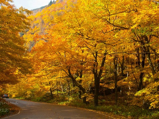 Vermont 108 near Smugglers Notch was named one of the