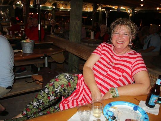 Elisa Groendyke is all smiles at the Fort Pierce Jazz