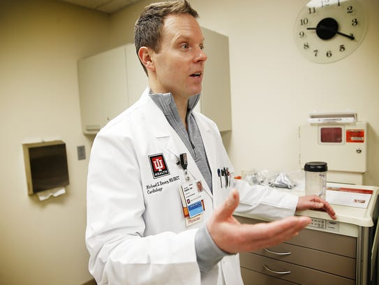 Dr. Michael Emery, a cardiologist specializing in sports medicine for IU Health was volunteering near the finish line of the Boston Marathon five years ago when two bombs tore through the crowd.