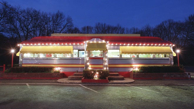 The Roadside Diner on Route 34 in Wall.