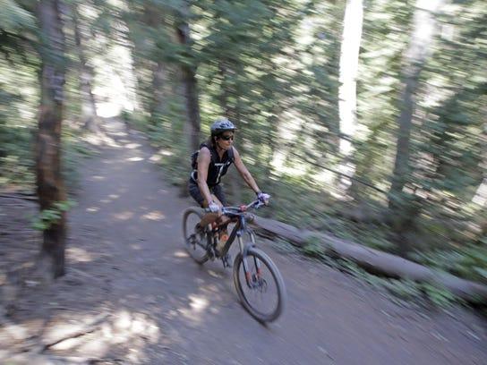This trail near Salt Lake City is open to mountain