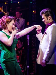 "Bligh Voth, who plays Dyanne, a fictitious Elvis girlfriend, and Boniello in ""Million Dollar Quartet."""