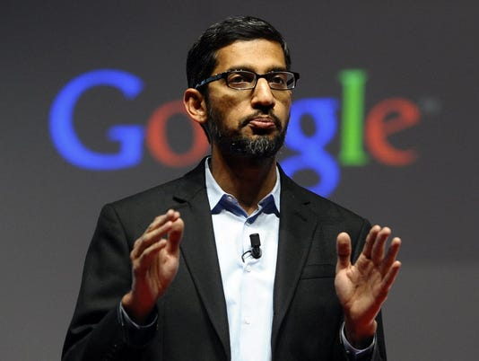 Google's rising star Pichai is officially in charge