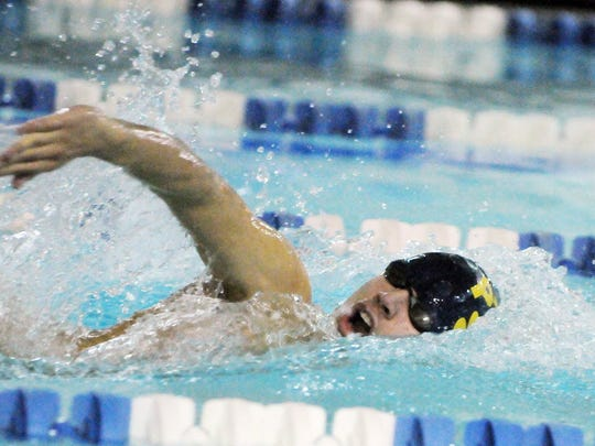 The Pequannock boys' swim team was eliminated from the state tournament after falling to rivals Kinnelon on Monday afternoon for the third-straight year.