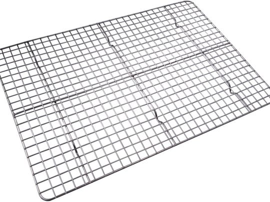Checkered chef stainless steel cooling rack
