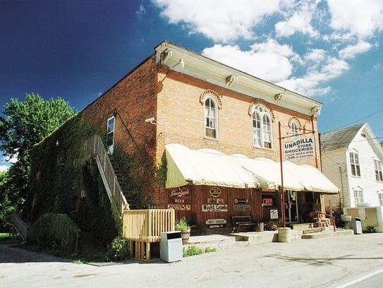 The Unadilla Store, photographed in 2001, was the most