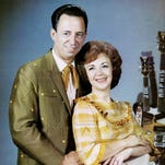 Rose Lee Maphis at the Country Music Hall of Fame