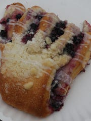 Lines are often long at the Polebridge Mercantile to get a taste of a huckleberry bear claw.