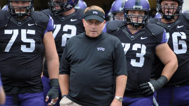 TCU coach Gary Patterson was credited with slightly more than $4 million in pay for the 2012 calendar year.