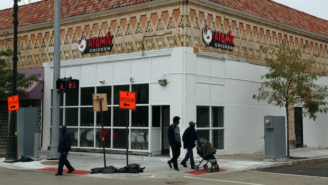 Atomic Chicken Detroit is planning to open in Detroit's New Center neighborhood in the former Popeye's Chicken space on Woodward April 12.