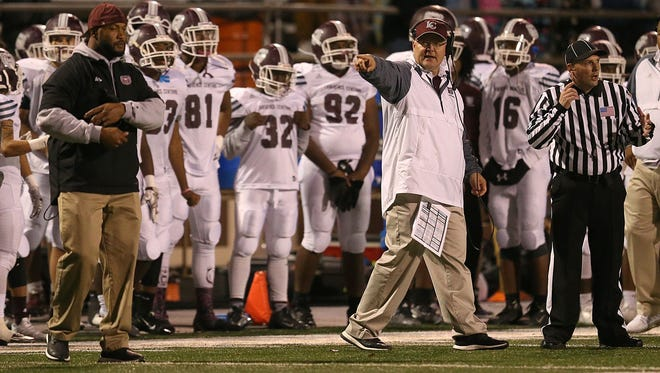 Lawrence Central returns eight starters on defense. Head coach William Peebles, seen here during a 2016 sectional game, is excited for that group.