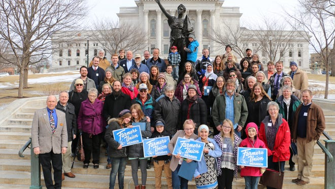 Sixty Wisconsin Farmers Union participants gathered in Madison on Feb. 21 for Farm and Rural Lobby Day where they spoke up on a number of issues impacting farms and rural communities.