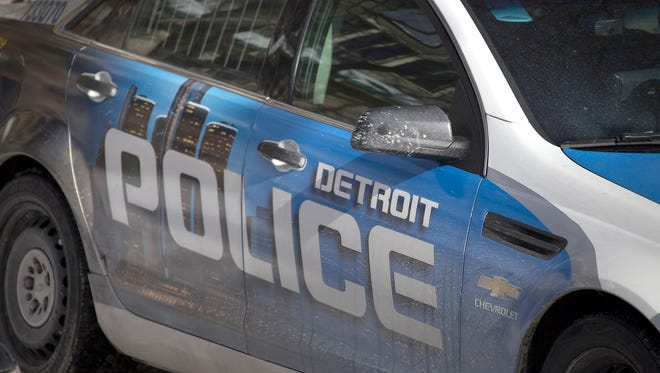 Detroit Police Department car