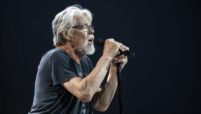 Bob Seger and The Silver Bullet Band perform on stage in 2017.