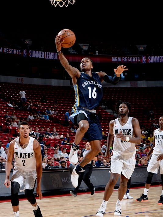 2018 NBA Summer League - Las Vegas - Memphis Grizzlies v Portland Trail Blazers