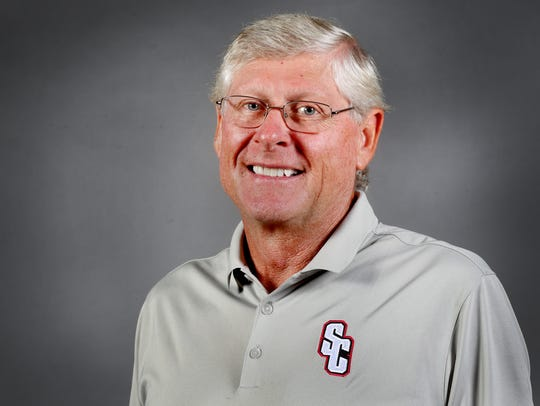 Stewarts Creek's Head Football Coach David Martin.