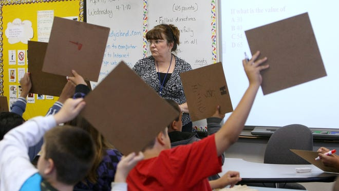 Arizona fourth grade students have increased their proficiency in math by 11 percent and in reading by 2 percent over the past five years, according to NAEP data.
