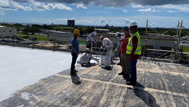 Cherokee Nation Management & Consulting provides engineering services to the 718th Civil Engineer Squadron at the Kadena Air Base in Okinawa, Japan.