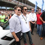 Celebrities shine at the Indy 500