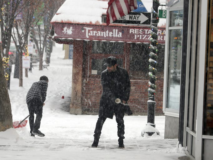 Photos: Morning snow leaves 4-6 inches in Lower Hudson region