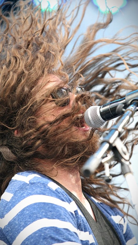 J. Roddy Walston & The Business perform in 2012 at Firefly Music Festival in Dover.