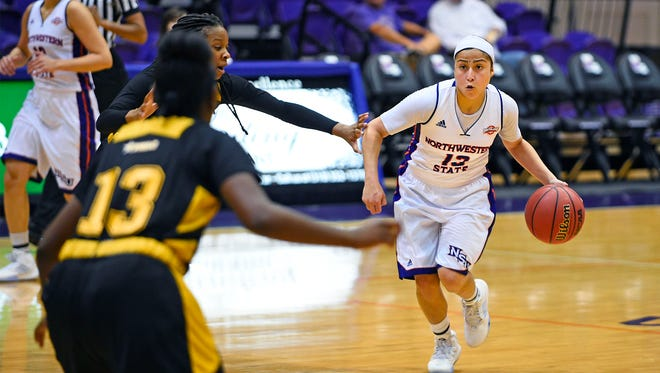 Northwestern State's Janelle Perez has been named SLC Women's Basketball Player of the Week.