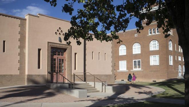 The Phoenix Indian School Visitors Center (left), Oct. 10, 2017, at Steele Indian School Park, 300 E. Indian School Road, Phoenix.