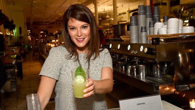 """Food Writer Gail Simmons, a judge on """"Top Chef,"""" will be at Terrain in Glen Mills, Pa., Monday night to sign copies of her new cookbook."""