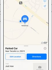 Can't remember where you parked? No worries, as Apple Maps now can help.