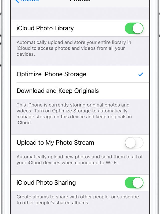 Your iPhone keeps running out of storage and you've deleted photos