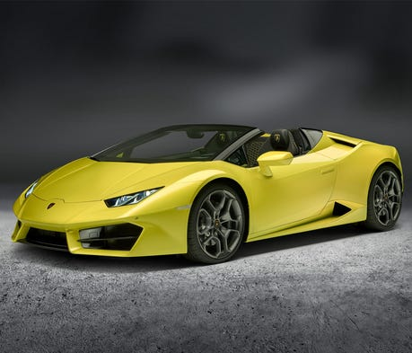 Lamborghini's topless Spyder is almost impossible ...