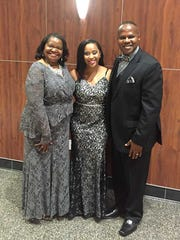 Bently Senegal, wife Angela and daughter Brittany