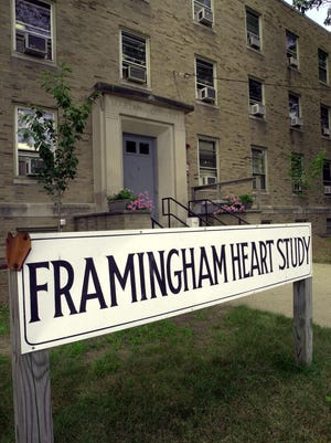 The Framingham Heart Study is run out a medical building in the city.