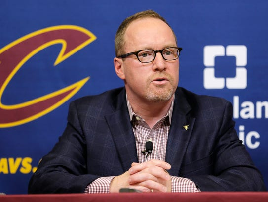 Former Cleveland Cavaliers general manager David Griffin in 2017.