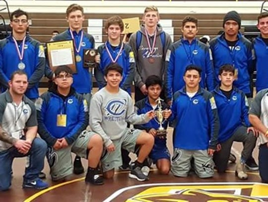 Wrestlers capture second place at Annual Joe Vivian